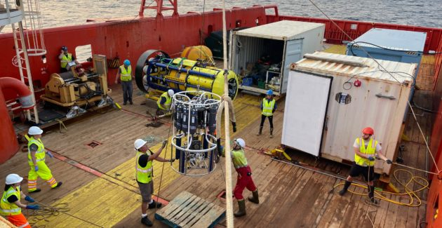 MORI: NEW PARTNERSHIP MOBILIZES MARINE SCIENTISTS FOR RESEARCH AT SEA