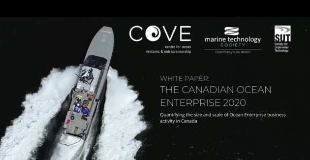 COVE study finds surge in Canadian high-tech companies enabling the wider Blue Economy